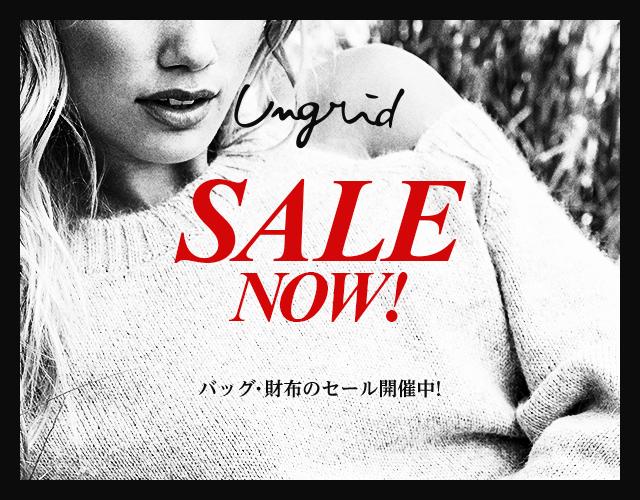 【Ungrid】のバッグ、財布のSALE情報!
