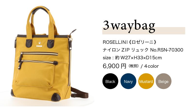 ROSELIINI_3waybag_70300