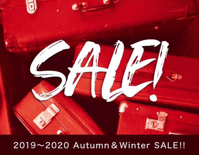 2019 Autumn & Winter SALE!!