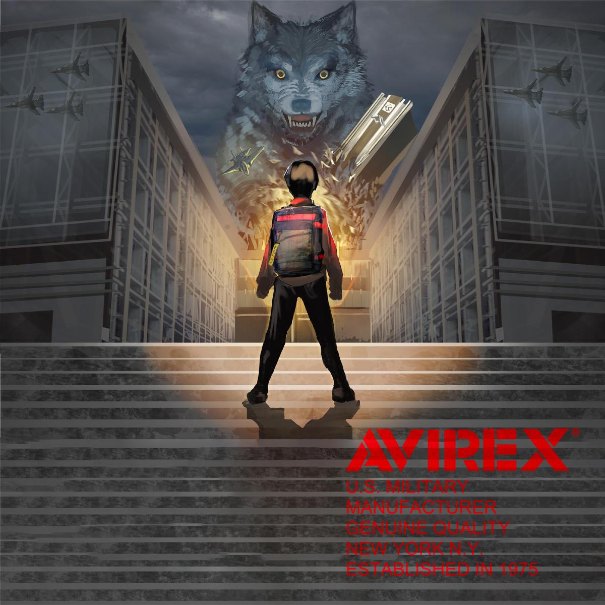 アヴィレックス商品AVX598のイメージイラストトップ