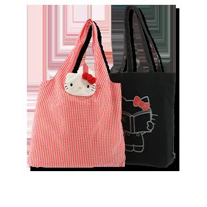 Hello Kitty × SALON de RUBAN<br>TOTE BAG